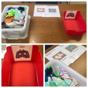 Task Boxes for Life Skills